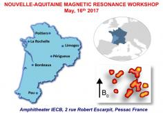 Nouvelle-Aquitaine Magnetic Resonance Workshop 2017